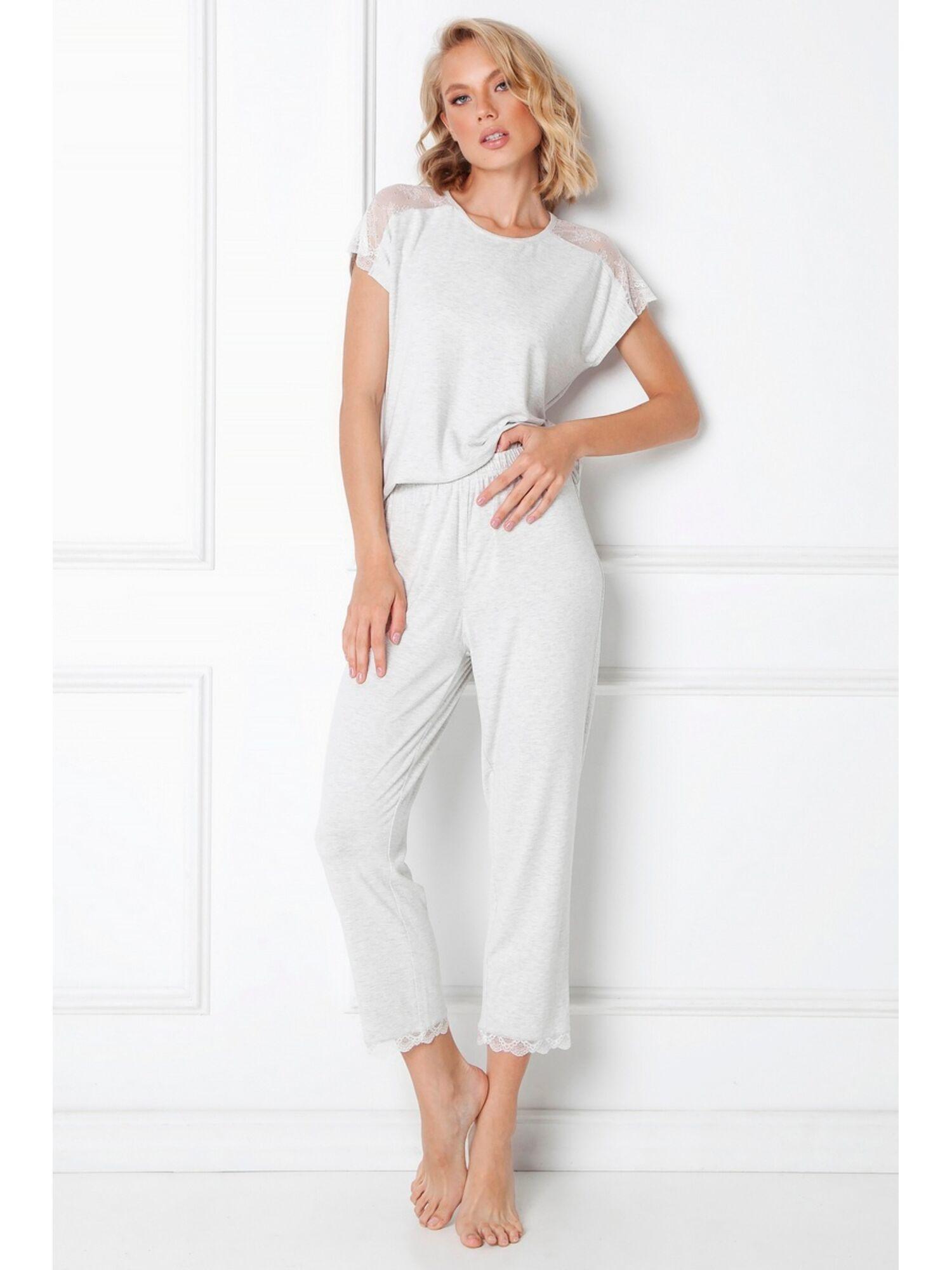 Комплект женский со штанами CATHLEEN, серый, ARUELLE
