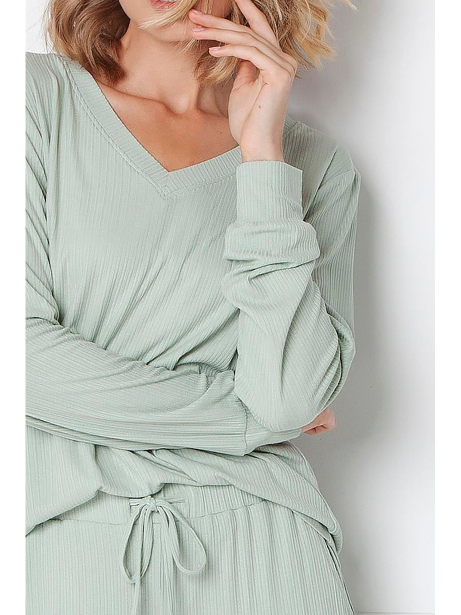 Комплект женский со штанами TINA FOREST GREEN, зеленый, ARUELLE
