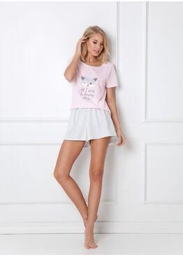 Пижама с шортами TRIXIE PINK, ARUELLE