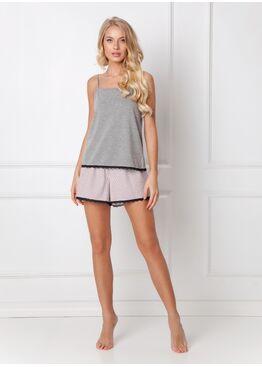 Пижама женская с шортами ADELIDE DARK GREY, ARUELLE