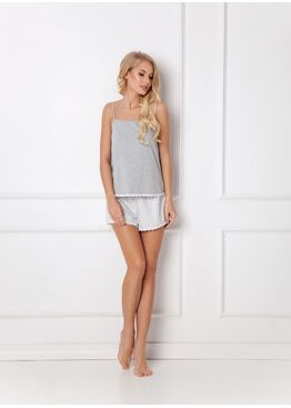 Пижама женская с шортами ADELIDE GREY, ARUELLE
