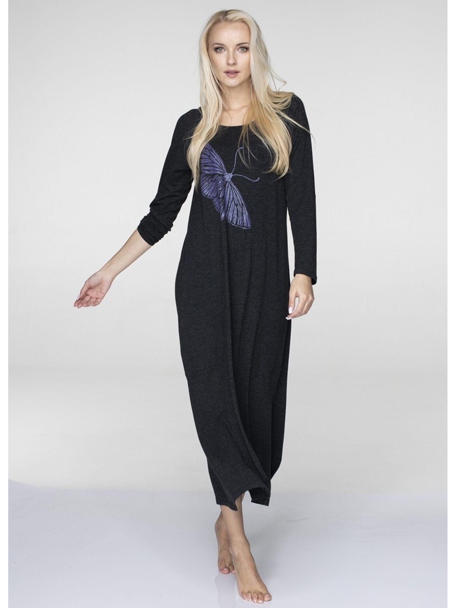 Платье женское из вискозы LHD 823 19/20 серый , KEY