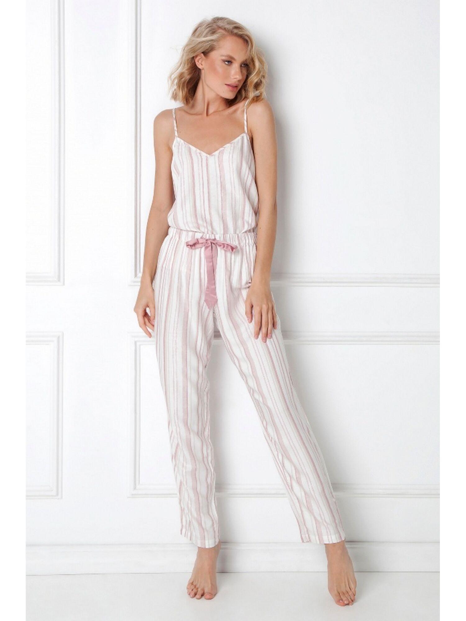 Пижама женская со штанами PAOLA, розовый, ARUELLE