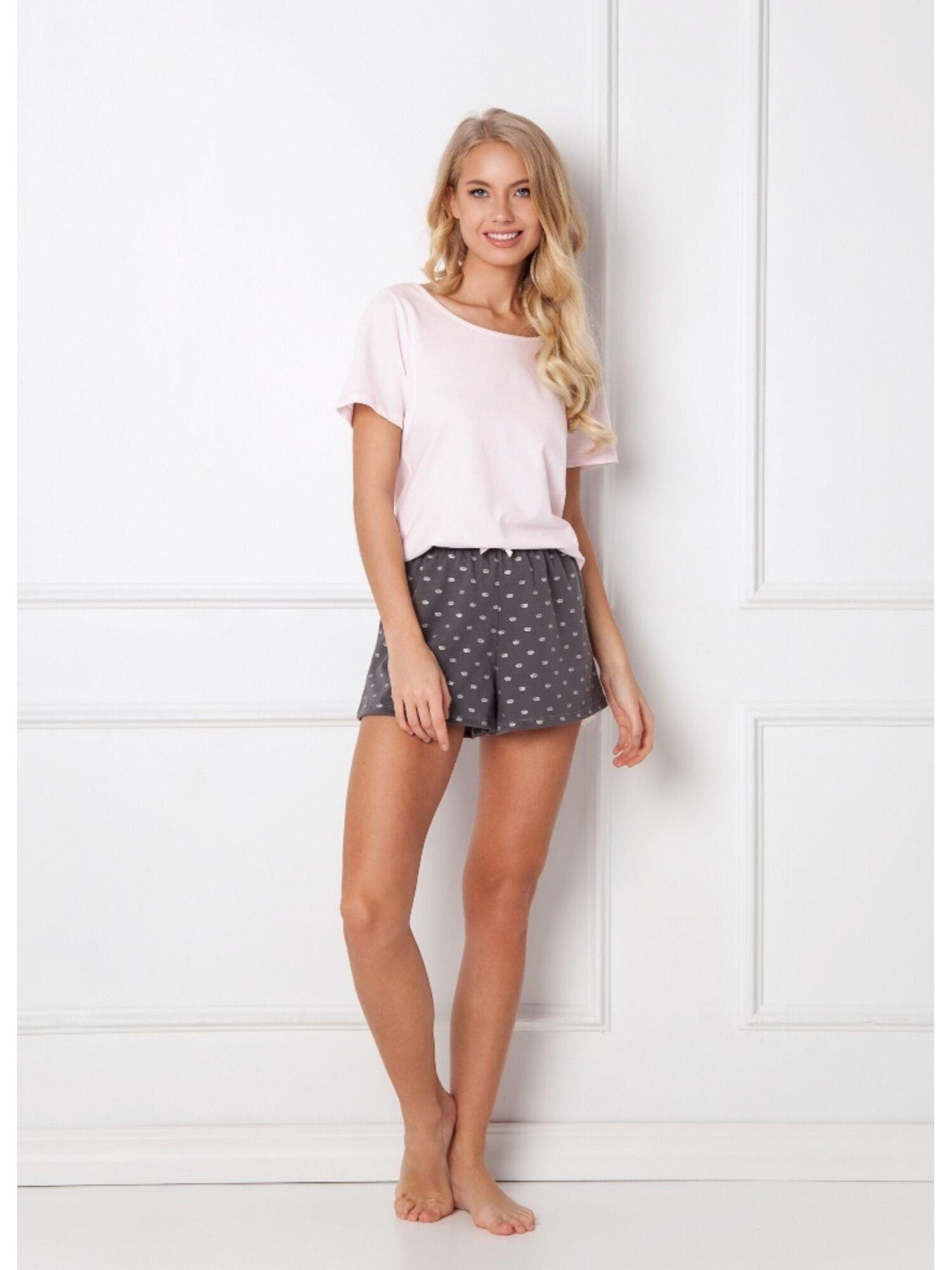 Пижама женская с шортами CHARLENE PINK, ARUELLE