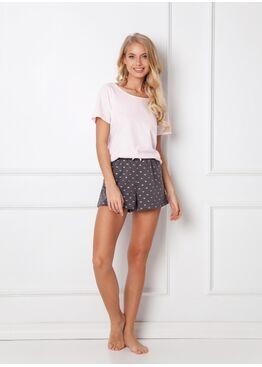 Пижама с шортами CHARLENE PINK, ARUELLE