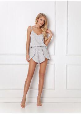 Пижама с шортами FELINE GREY, ARUELLE