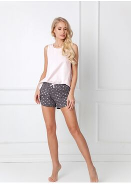 Пижама с шортами CARLY PINK, ARUELLE