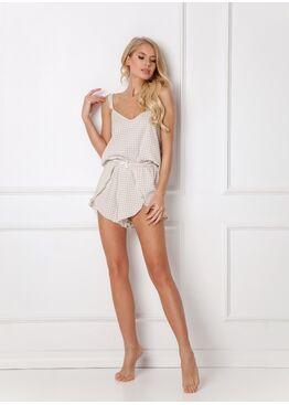 Пижама с шортами GINNY CREME, ARUELLE