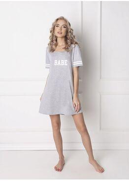 Сорочка BABE серый