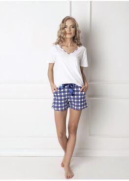 Пижама женская с шортами ARU_BLUMY