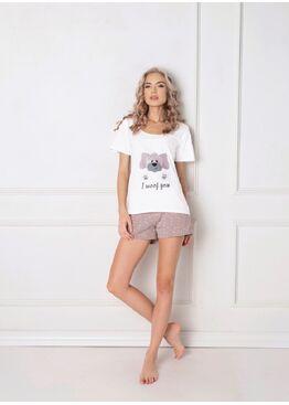 Пижама с шортами WOOF