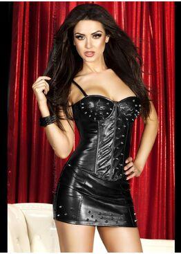 Платье 3546 CORSET + SKIRT SET черный