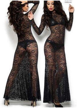 Платье 4049 Long Dress черный