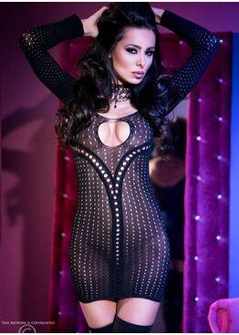 Платье 4100 черный