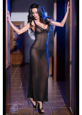 Платье 4115 черное