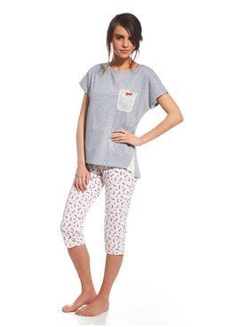 Пижама 054 серый