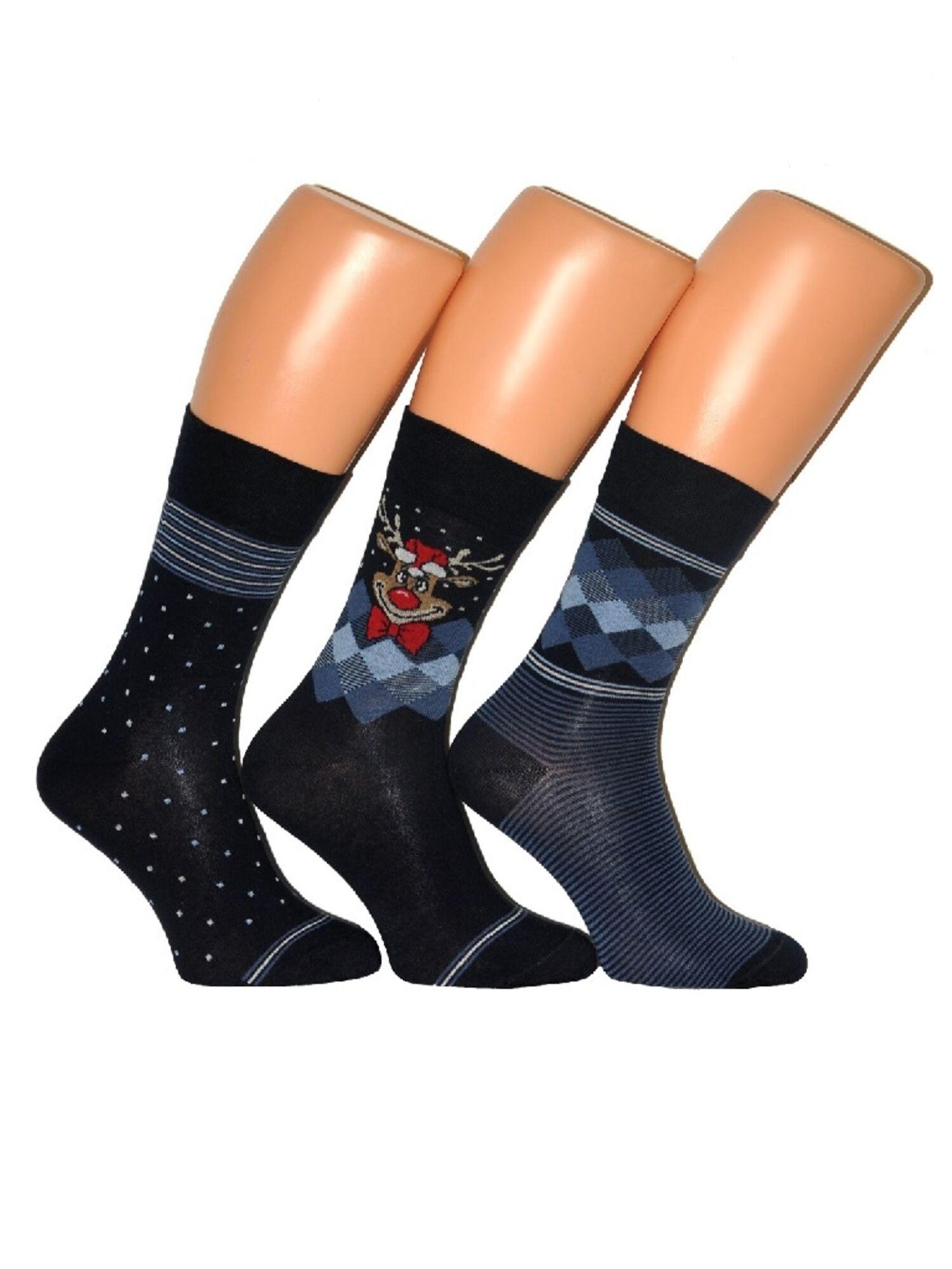 Носки мужские Premium 3-pak синий ,CORNETTE