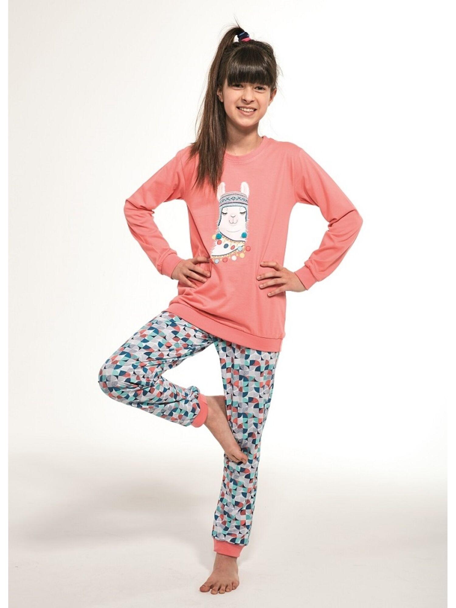 Пижама детская для девочек 353/115 Llama, Cornette