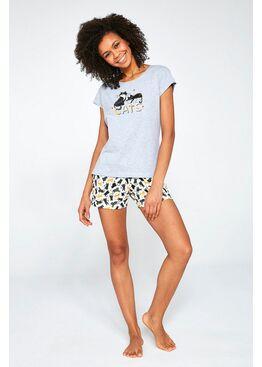 Пижама женская с шортами 628 CATS, Cornette