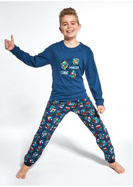 Пижама для мальчиков 593/966 CUBE MASTER, Cornette