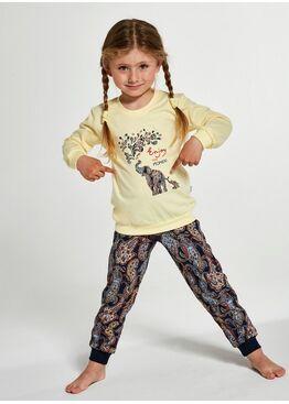 Пижама для девочек 594/592 ELEPHANTS, Cornette