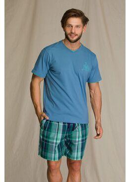 Пижама мужская с шортами KEY 714 A21, KEY