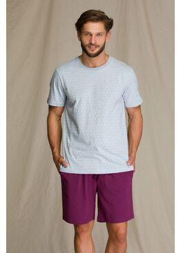 Пижама мужская с шортами MNS 810 A21, KEY