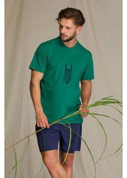 Пижама мужская с шортами MNS 741 1 A21, KEY
