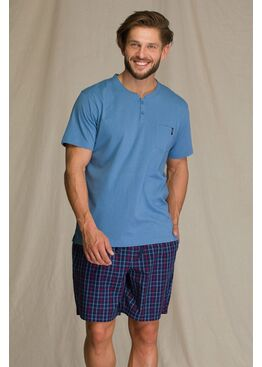 Пижама мужская с шортами MNS 223 A21, KEY