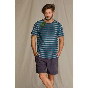 Пижама мужская с шортами MNS 351 2 A21, KEY
