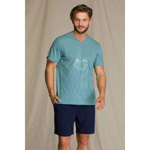 Пижама мужская с шортами MNS 073 A21, KEY