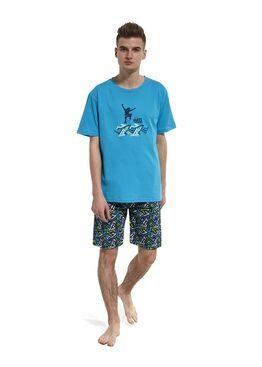 Пижама подростковая 551 голубой