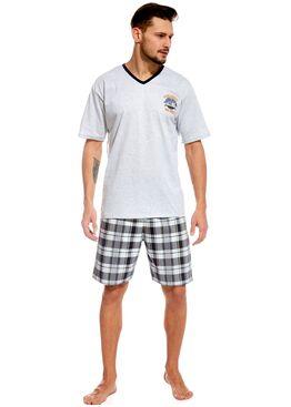 Пижама 326 серый/графит