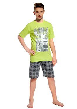 Пижама подростковая 551 салатовый