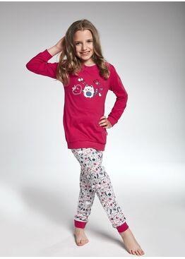 Пижама детская 592/594-2 розовый/серый