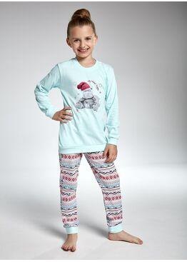 Пижама детская 592/594-2 голубой/красный