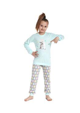 Пижама детская 592/594 бирюзовый/серый
