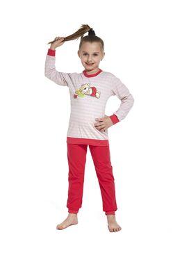Пижама детская 592/594 красный/розовый