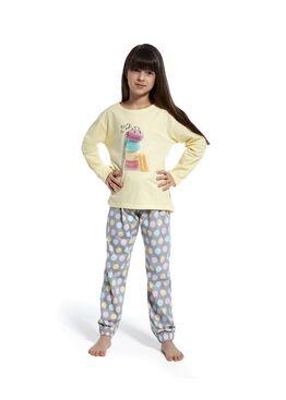 Пижама детская 592/594 желтый/серый