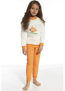 Пижама детская 592/594 экри/оранжевый