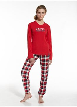 Пижама 673 красный