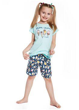 Пижама детская 787/788 бирюзовый/синий