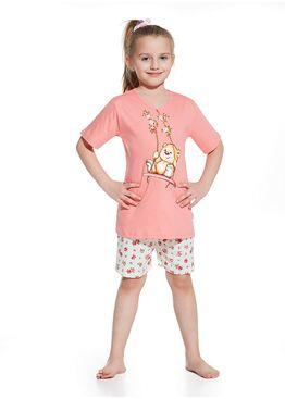 Пижама детская 787/788 розовый/экри