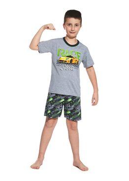 Пижама детская 789/790 серый/салатовый