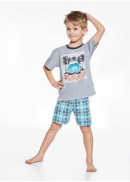 Пижама детская 789/790 серый/бирюзовый