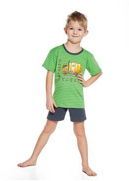 Пижама детская 789/790 зеленый/графит