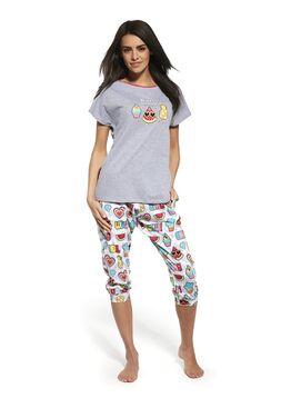 Пижама 063 серый
