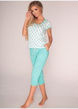 Пижама 595 COLINE мята