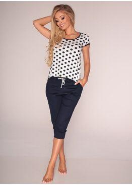 Пижама 595 COLINE синий/розовый