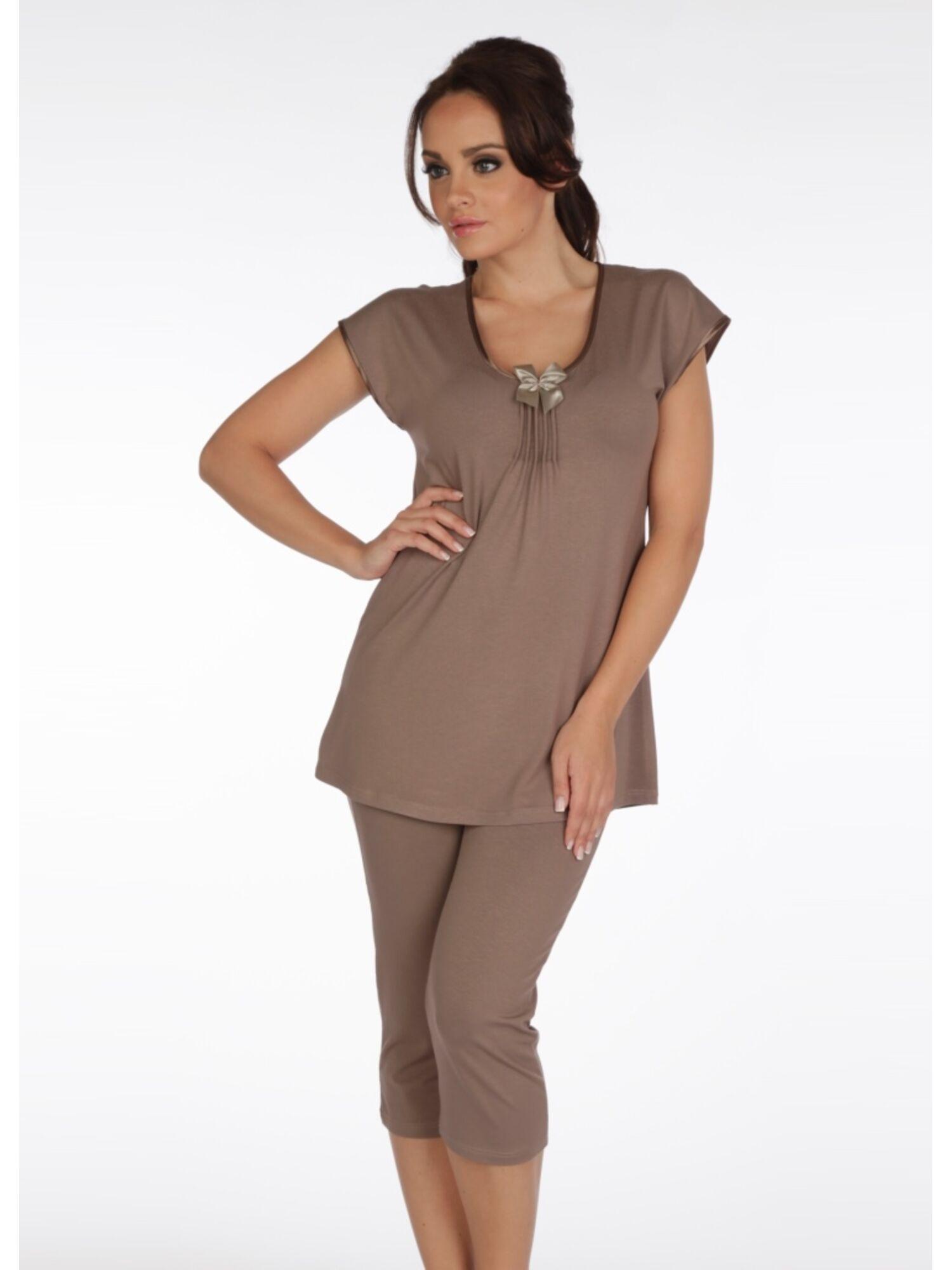 Пижама 884 VISA мокка